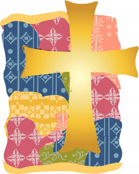 gold-cross-with-quilted-pattern
